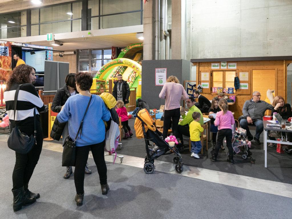 Uno spazio per famiglie con bambini piccoli