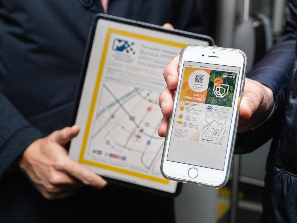 Treni e autobus gratis
